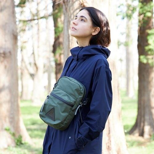 【ANONYM CRAFTSMAN DESIGN】3H SHOULDER BAG(OLIVE)  透湿防水ショルダーポーチ アノニム クラフツマン デザイン 日本製 MADE IN JAPAN