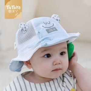 ベビー 赤ちゃん 夏 バケットハット UVカット帽子 UVハット 女の子 男の子 子供 キッズ 紫外線 対策 日よけ帽子 日焼け防止  5624