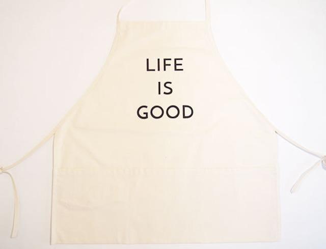 """エプロン """"APRON"""" (LIFE IS GOOD)"""