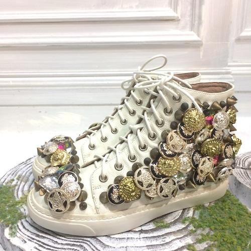 ジェフリーキャンベル Collage shoes スニーカー 37/38