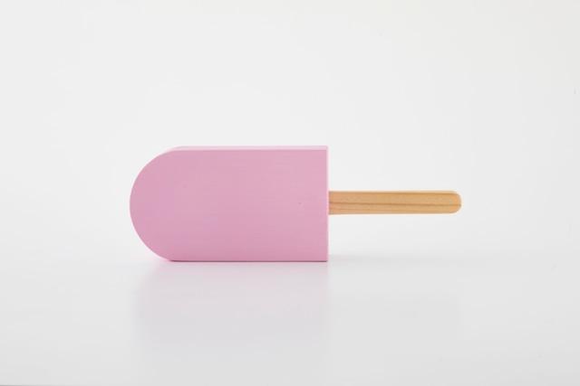 ice pop : 角丸 (ピンク) / 西本良太