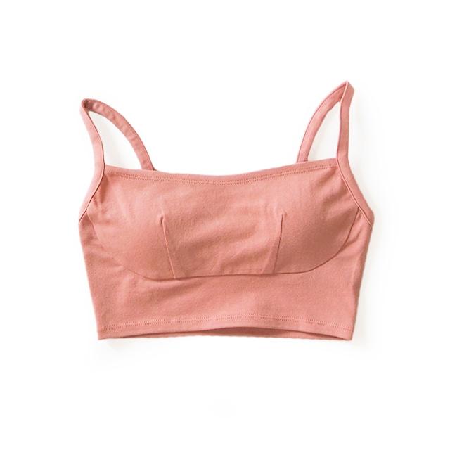 square croptop (dusty pink)