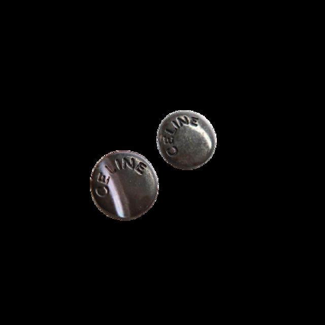 【VINTAGE  CELINE BUTTON】セリーヌ ミニロゴボタン  1.1cm L-21001