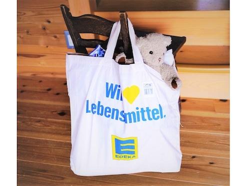 ドイツ EDEKA スーパーマーケット エコバッグ  お買い物バッグ