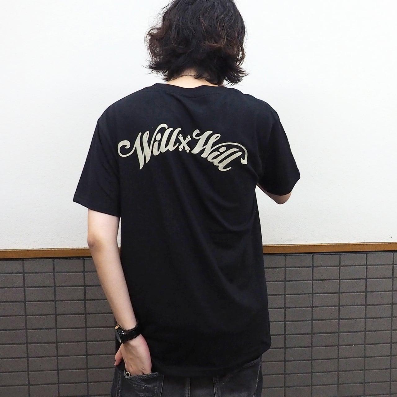WillxWill Arch Logo T-shirts Black