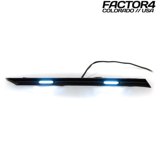 【 Factor4 】RAV4 Grille Lights (Smoked White) with Remote LED Controller