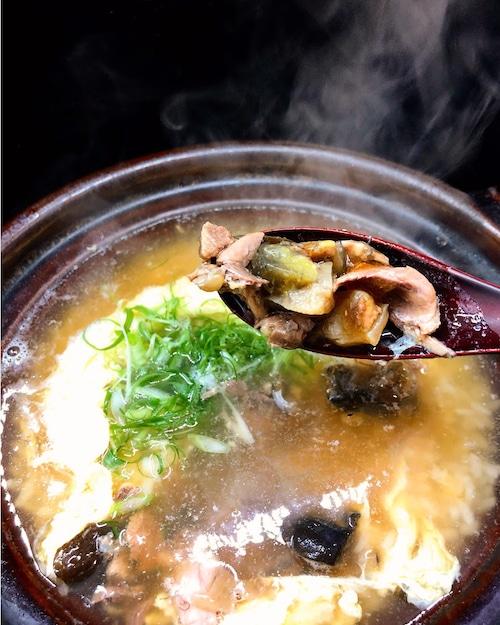 すっぽん鍋メインの雑炊に特化!!「国産すっぽん雑炊セット」、南蛮辛味噌 &生うにペースト