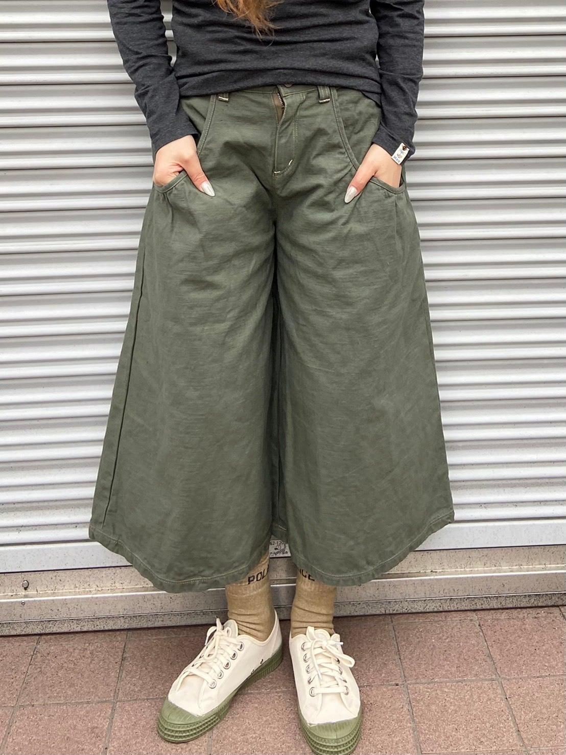 【ONEWASH】ギャザーパンツ