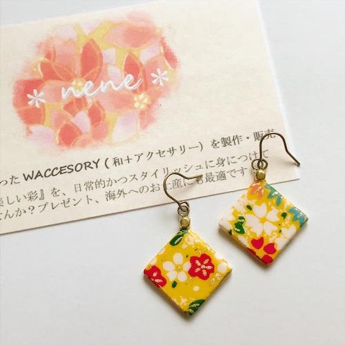 WACCESSORY『歩』_ピアス/イヤリング