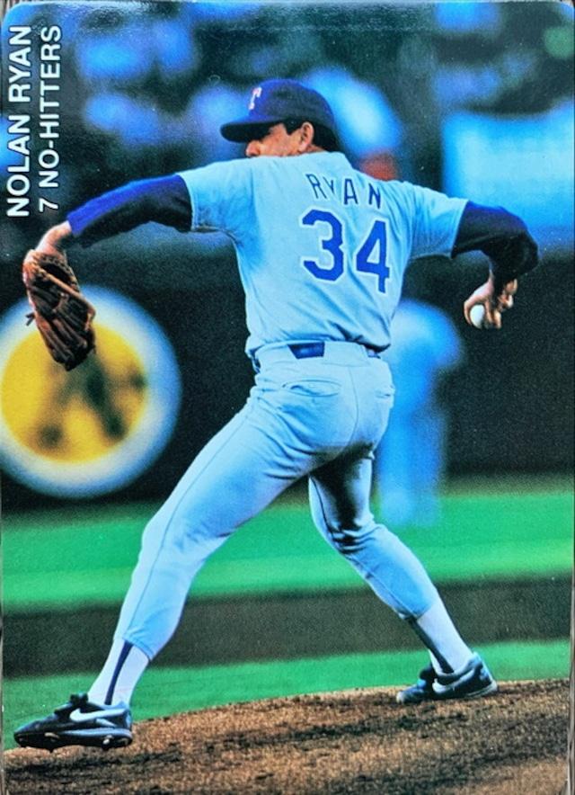 MLBカード 92MOTHER'S COOKIES  Nolan Ryan 6 of 8