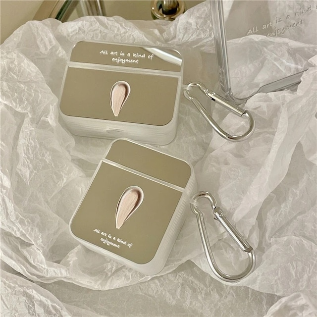 Mirror paint airpods case