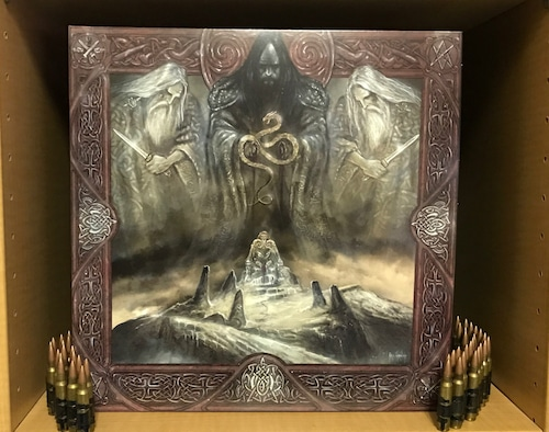 "ABSU (US) ""Tara Official reissue 2LP Set (Black, swamp green or bronze / smoke Color)"""
