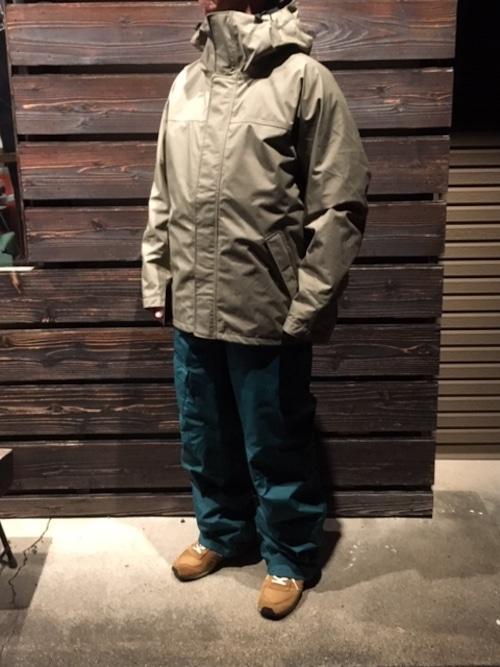 Green Clothing  FREE Jacket  Sand  Mサイズ