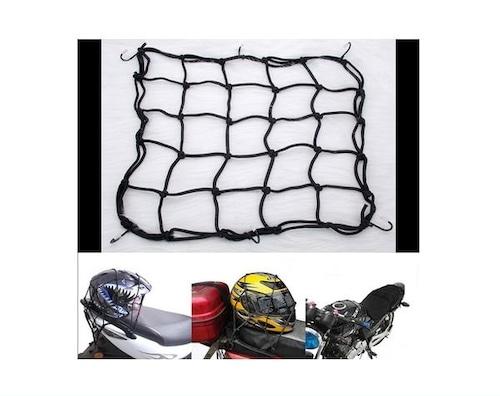 バイク ツーリングネット 格安 荷物くくり ライダー バイク用 ネット 40*40cm