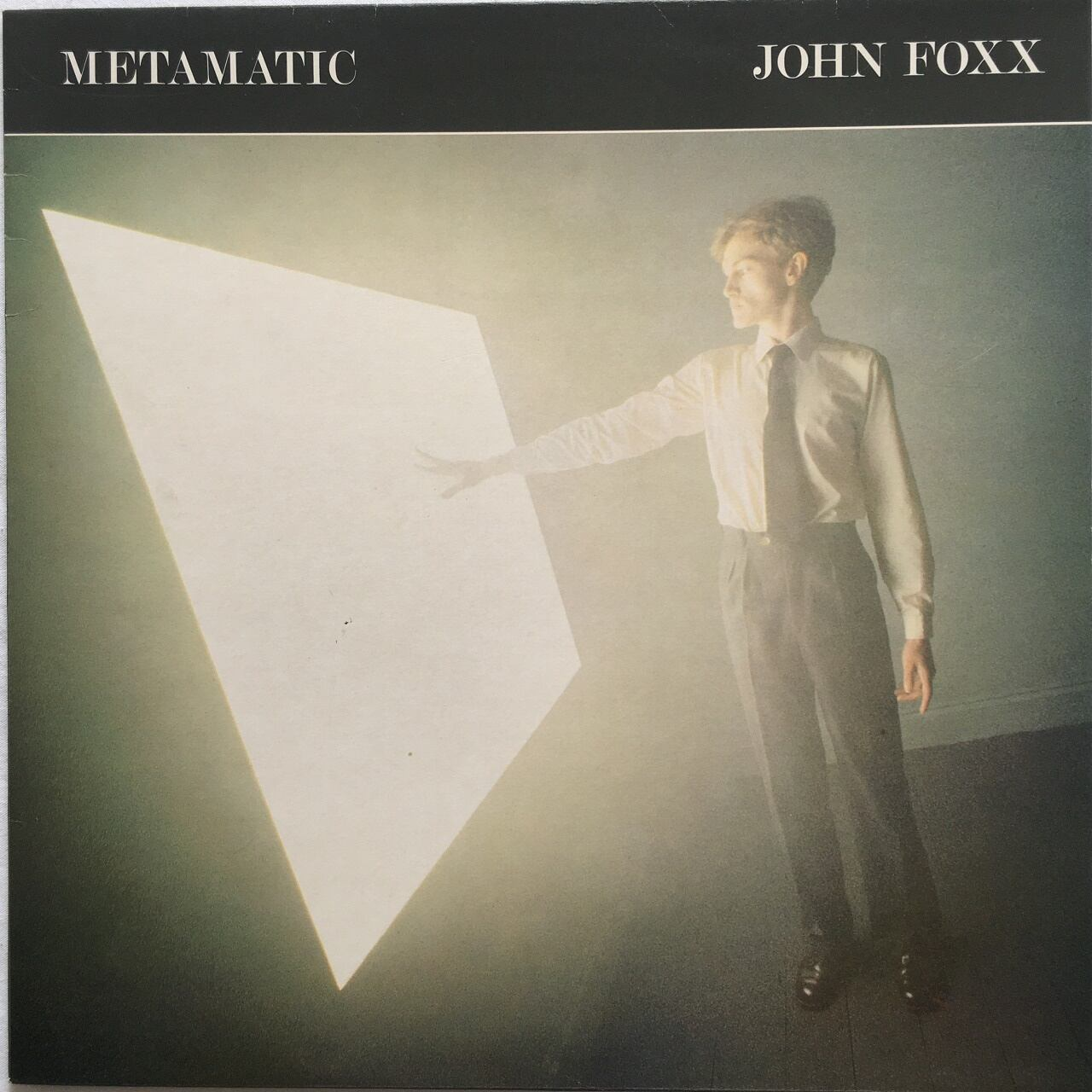 【LP・英盤】John Foxx   /  Metamatic