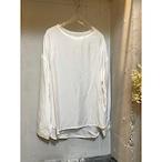 【hippiness】cupro long sleeve (white)/【ヒッピネス】キュプラ ロングスリーブ(ホワイト)