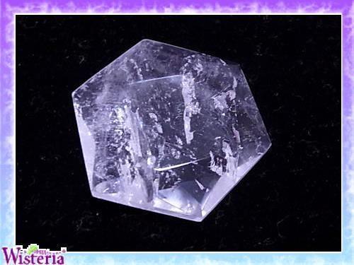 水晶 六芒星(hexagram) 直径43mm×厚み11mm