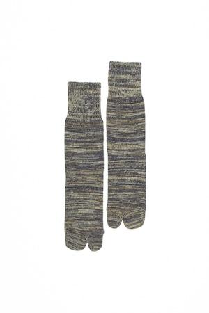 4Color Mix Socks (Green)