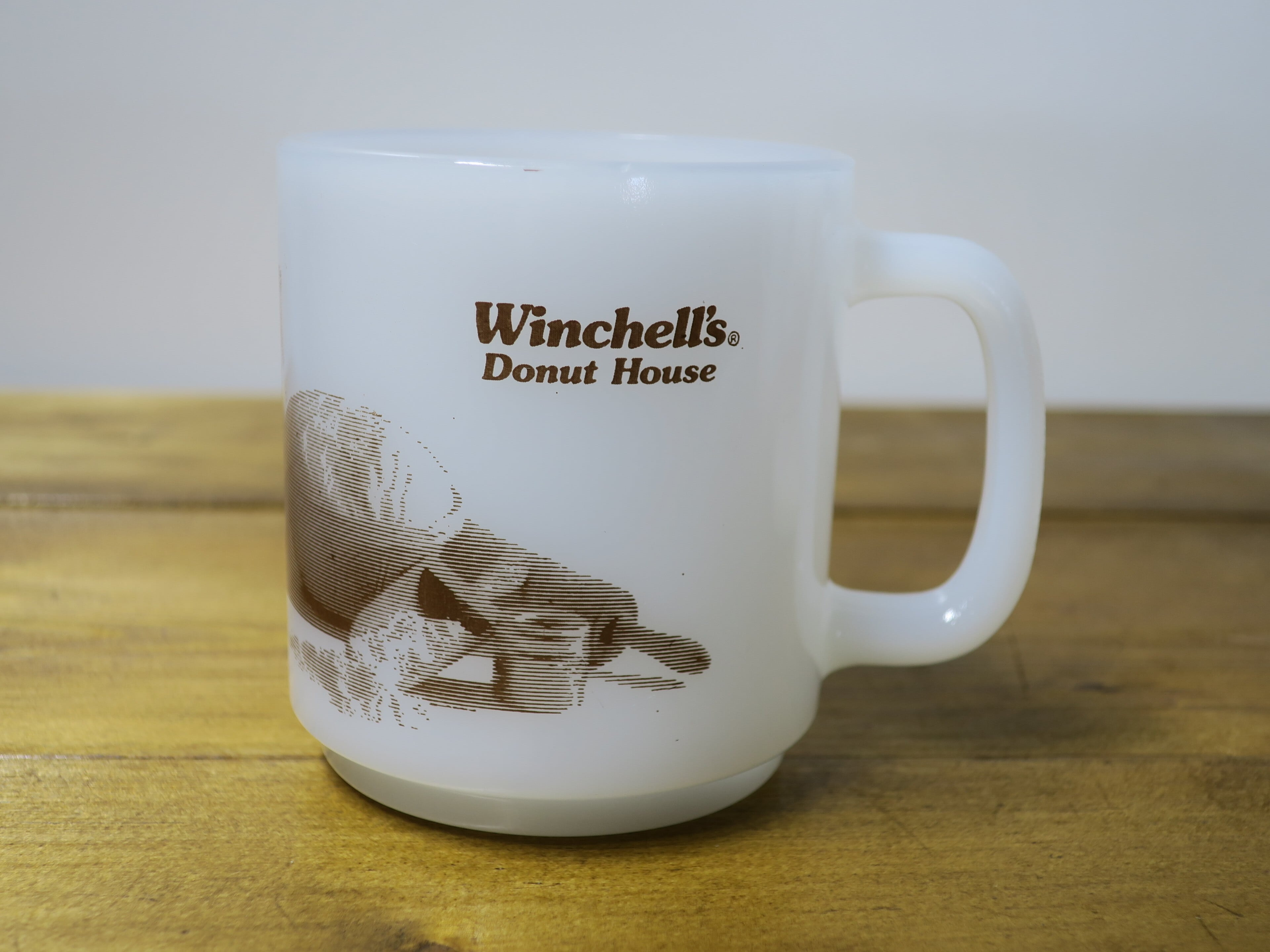 Glasbake グラスベイク スタッキング ウィンチェルズ ドーナツハウス/Winchell's