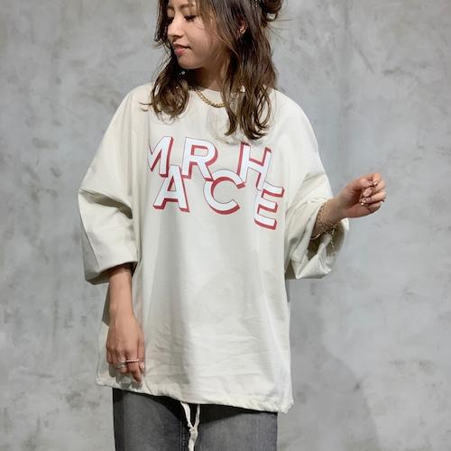 MARIED'OR/マリードール フロントロゴロングTシャツ 30030