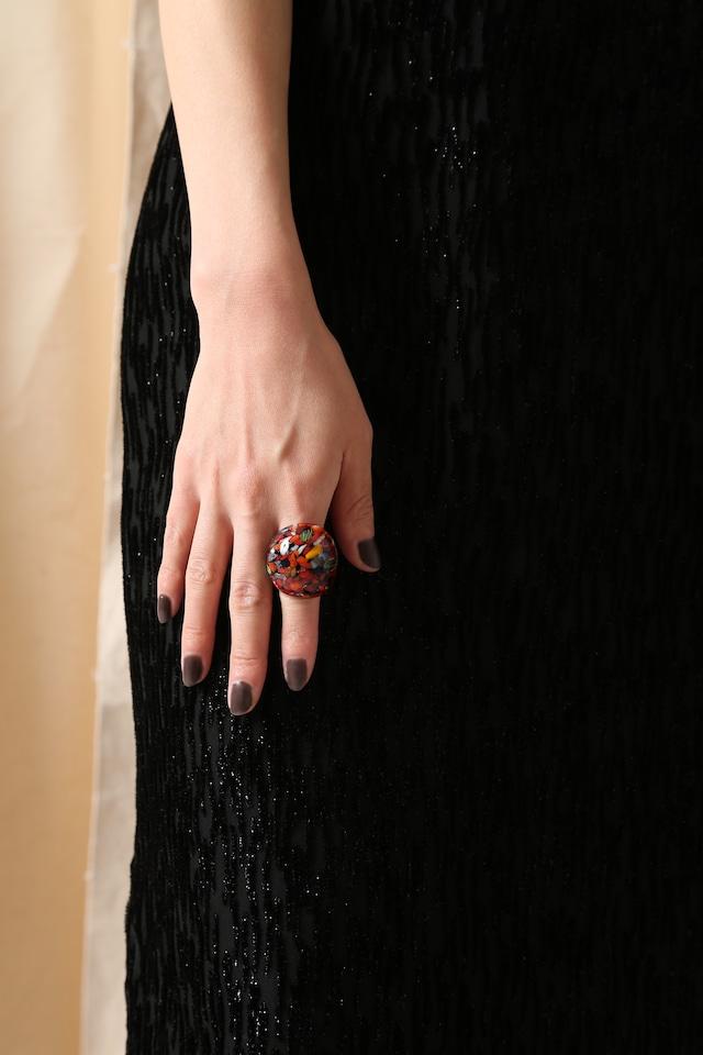 Venetian Glass Ring-Mix