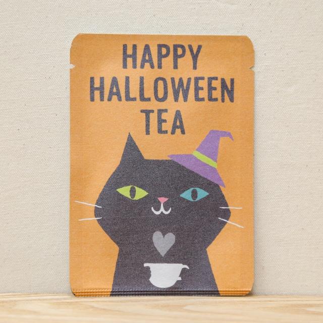 HAPPY HALLOWEEN TEA (黒ネコ)|ごあいさつ茶|和紅茶ティーバッグ1包入り