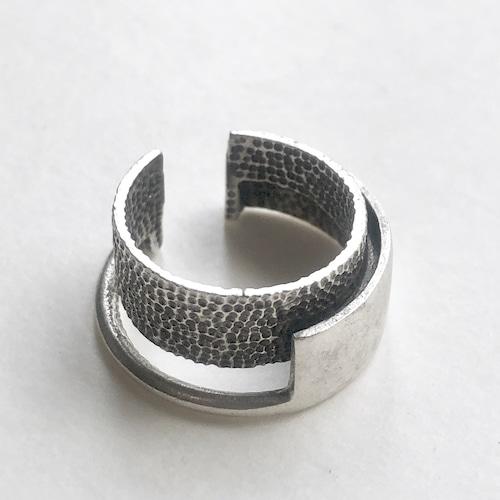 Raw brass Rings -  wLayerリング  RG-024/SV