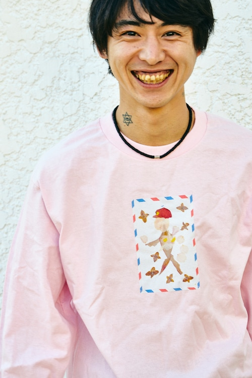 「Spring Letter Man x Mother」LONG Tee 4