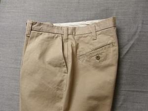 da intuck cotton pants / grege
