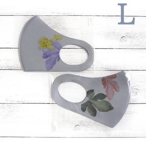 【グレース】デザインウレタンマスク(片側花)・大人用サイズ/マスク