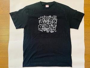 いいカモ町内会*ブラックTシャツ&トートバッグのお得なセット