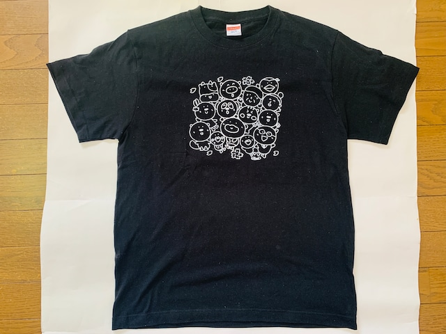 いいカモ町内会Tシャツ*ブラック