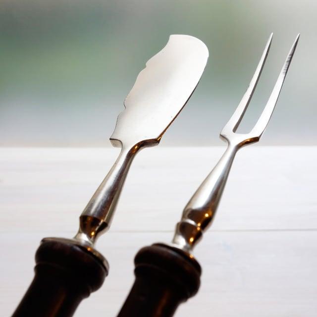 バターナイフ&デザートフォークセット