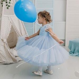ドレス キッズドレス ベビードレス 子供ドレス 女の子ドレス 結婚式 発表会 プリンセス フォーマルドレス ワンピース 七五三 チュール 80cm-130cm8438