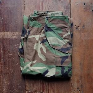 1980s US ARMY M-65 Cargo Pants / M65 ウッドランド カモ カーゴパンツ