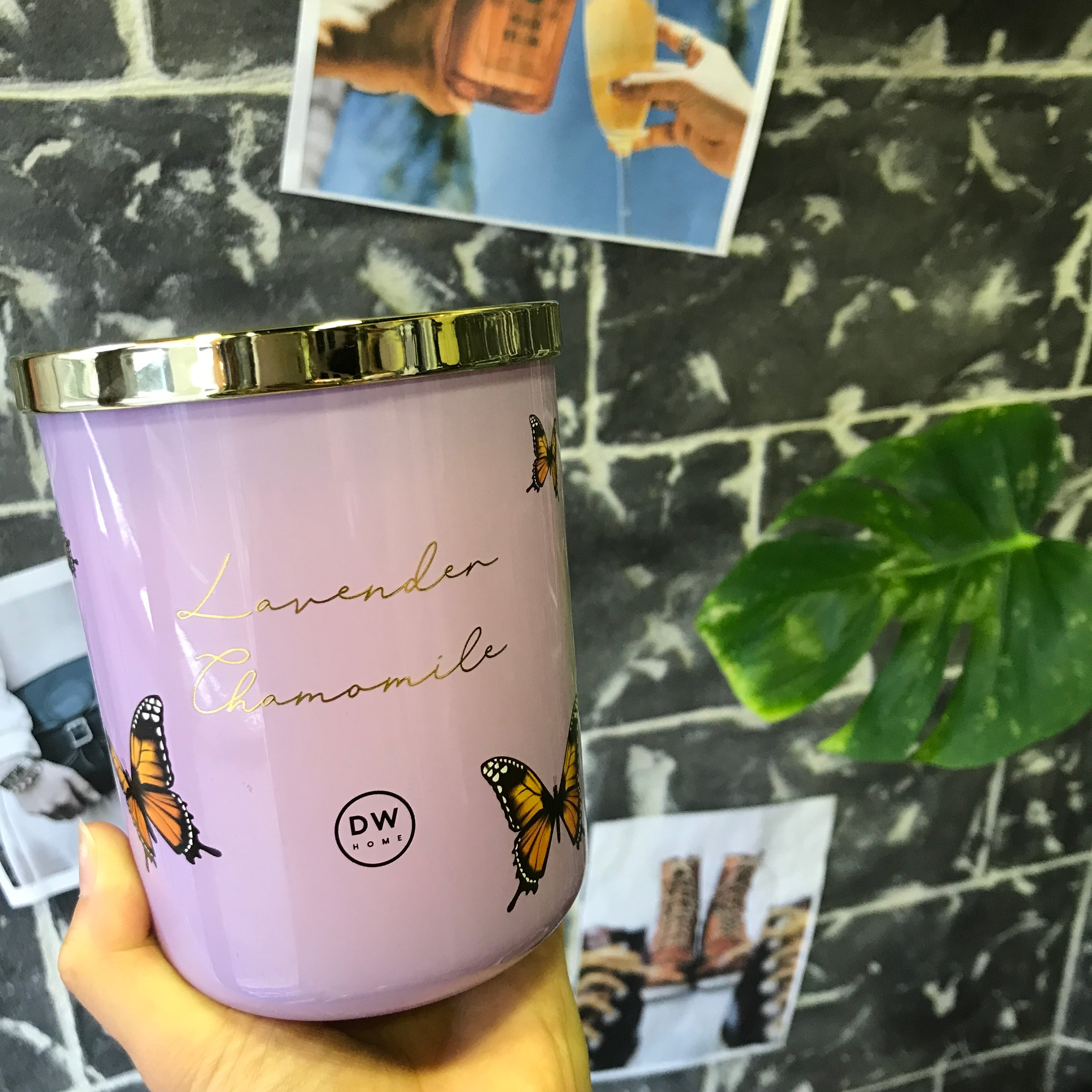 【DW Home Candles】LAVENDER & CHAMOMILE【アロマキャンドル】