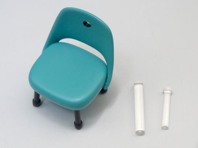【738】 霞ヶ丘詩羽 小物パーツ 視聴覚室の椅子 ねんどろいど