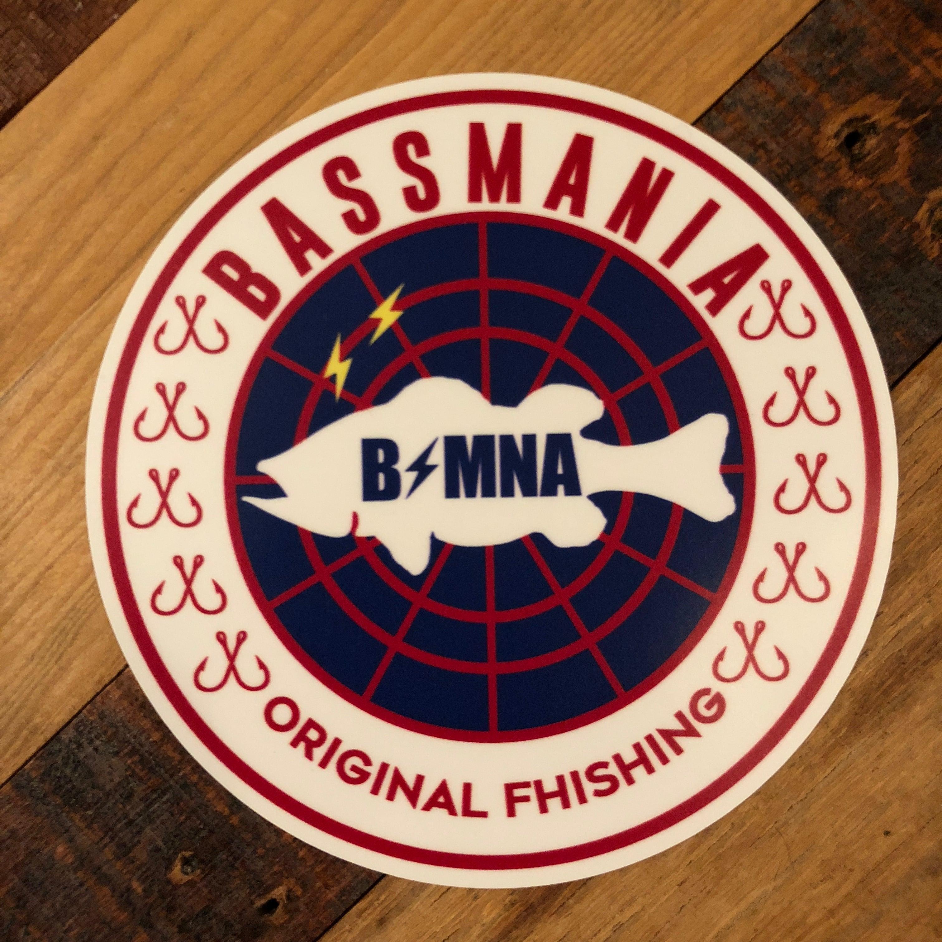bassmania net in bass sticker