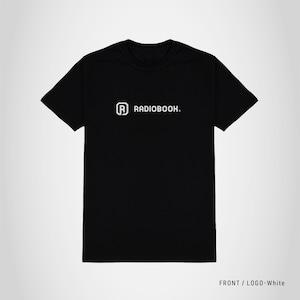 RADIOBOOK オリジナルロゴTシャツ ブラック