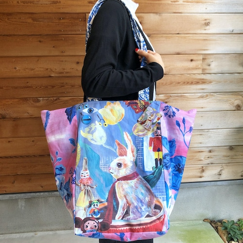"Nathalie Lete "" Bunny Market Bag"" ナタリーレテ  マーケットバッグ"
