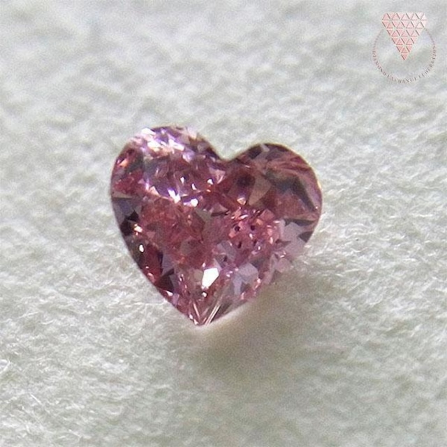 0.064 ct F.Int.Pink VS2 天然 ピンク ダイヤモンド