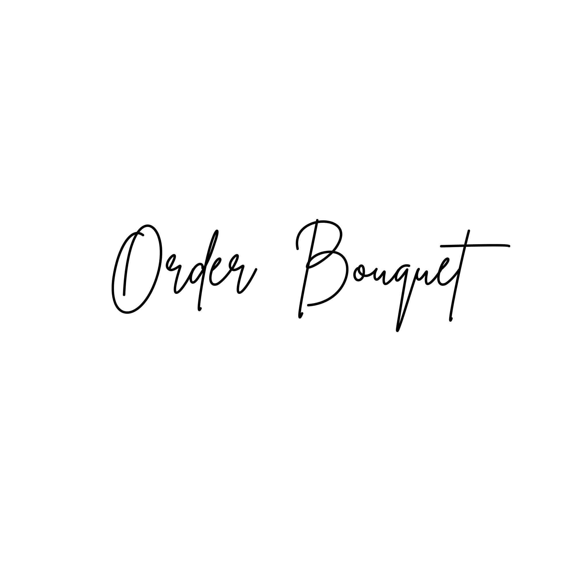 【ご予約品】Order Bouquet & Boutonniere