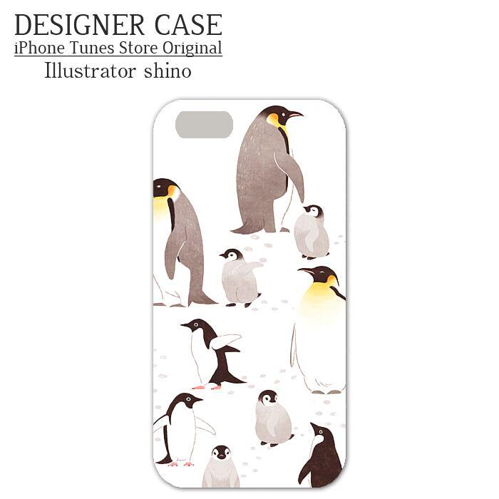 iPhone5S Soft case[penguin] Illustrator:shino