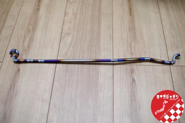 三菱 エボ 7-9 チタンボンネットバー MItsubishi Evo 7-9 titanium bar