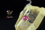 ピンク トパーズ ネックレス [刻印有]  P004