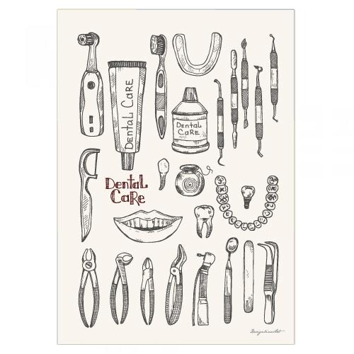 Dental Care B2ポスター