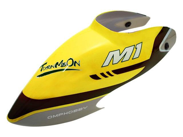 ◆M1キャノピー・イエロー OSHM1040  (ネオヘリでM1購入者のみ購入可)