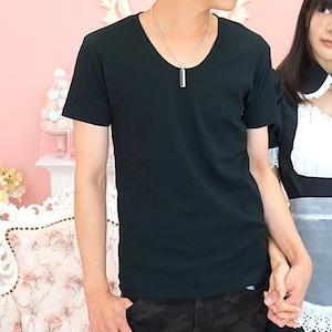 【1年中着回しできるのは無地の半袖Tシャツ☆着心地もオススメの自信作♪】スムス半袖無地Tシャツ(ブラック)CFWS4095