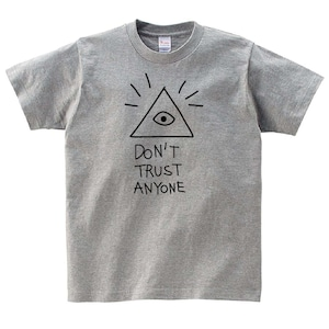 フリーメイソン プロビデンスの目 Tシャツ メンズ レディース 半袖 ゆったり かわいい トップス グレー 30代 40代 ペアルック プレゼント 大きいサイズ 綿100% 160 S M L XL
