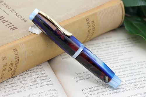 「Symphoniae mini カテドラルブルー」Viriditas手作り万年筆 14金無垢ペン先
